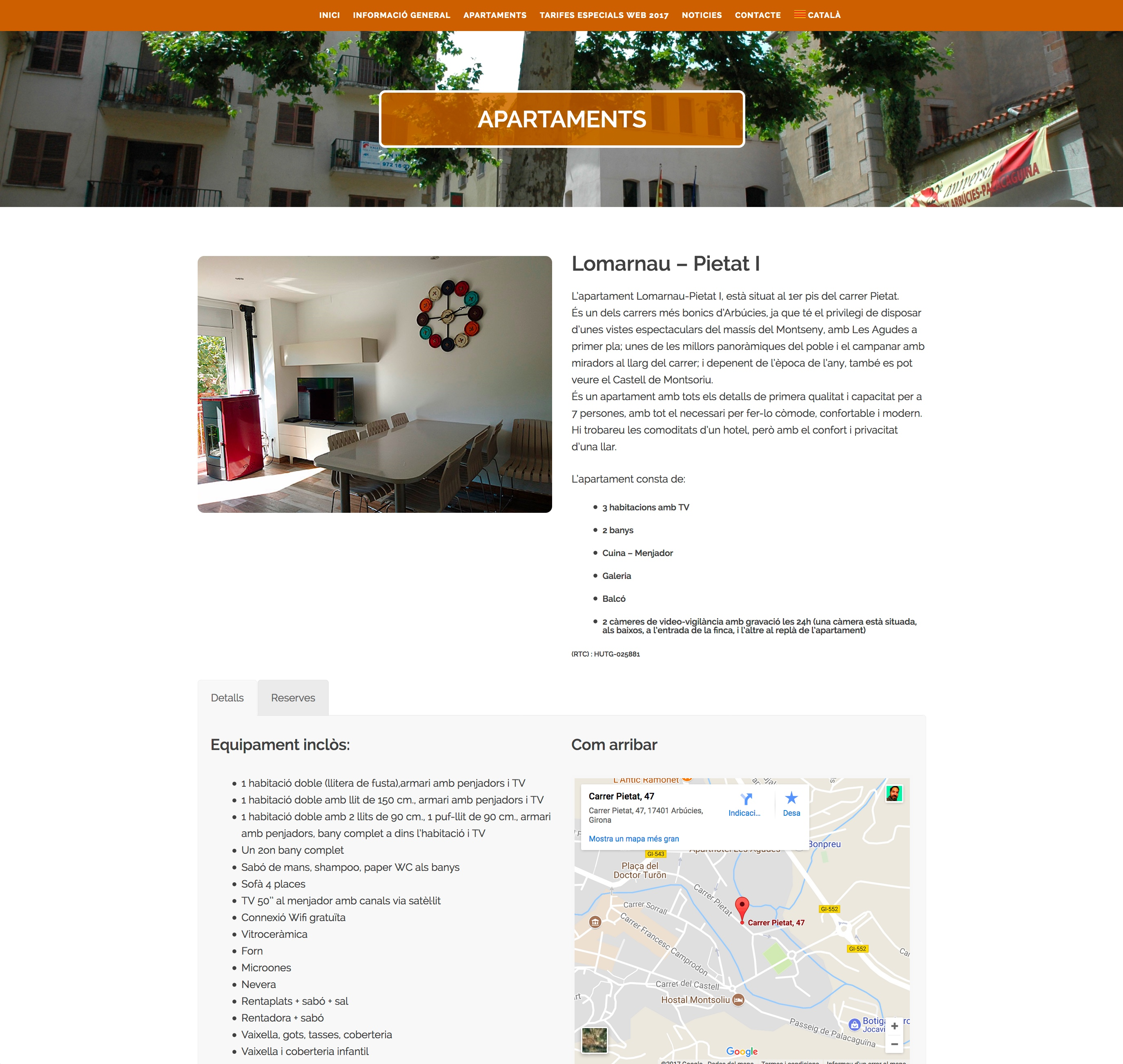 Apartaments Lomarnau